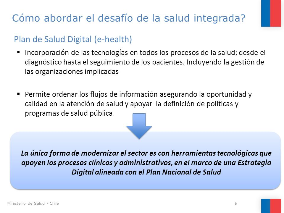 Cómo abordar el desafío de la salud integrada