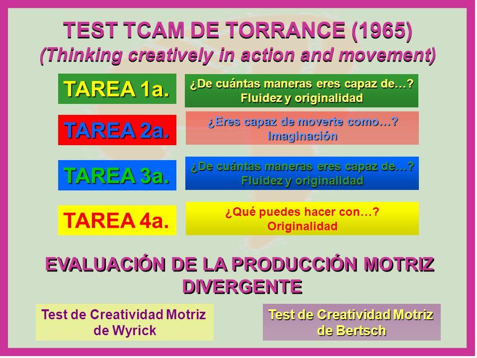 TEST TCAM DE TORRANCE (1965)