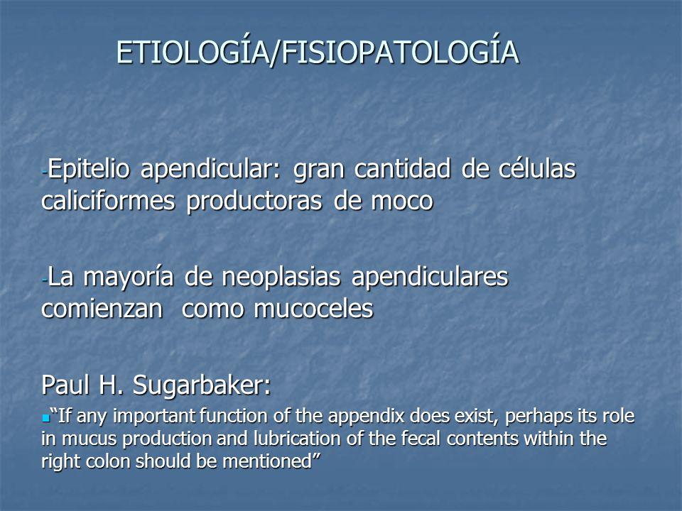 ETIOLOGÍA/FISIOPATOLOGÍA