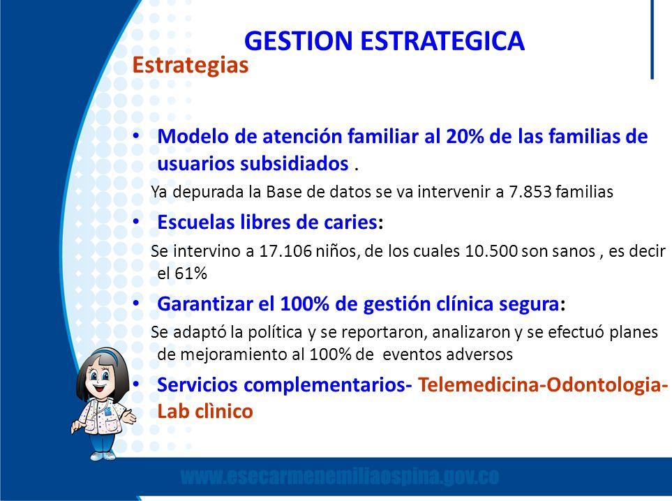 GESTION ESTRATEGICA Estrategias