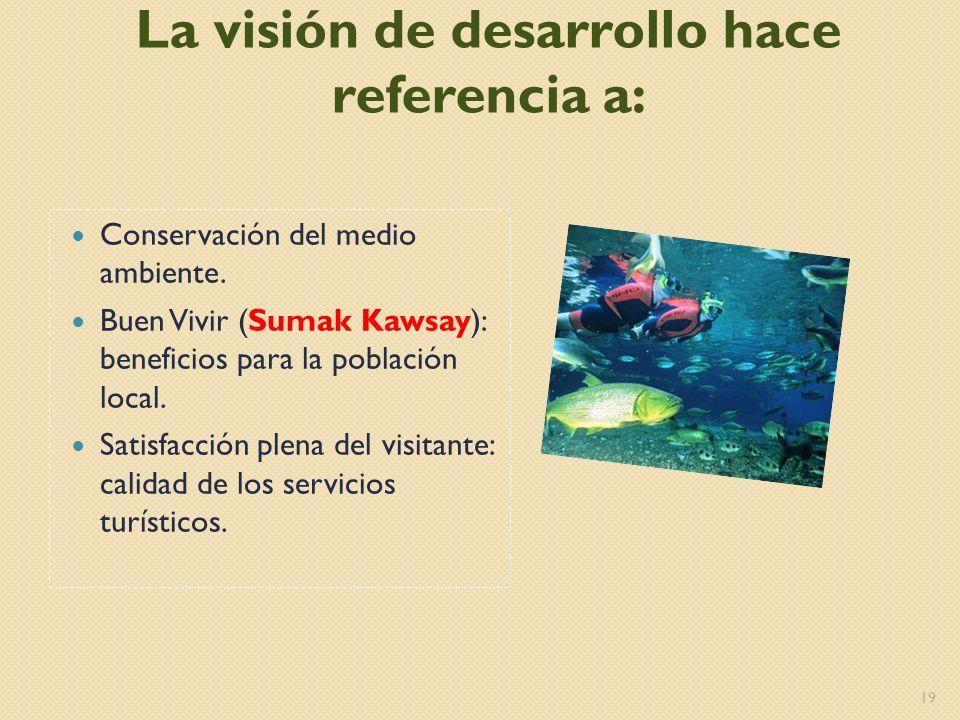 La visión de desarrollo hace referencia a: