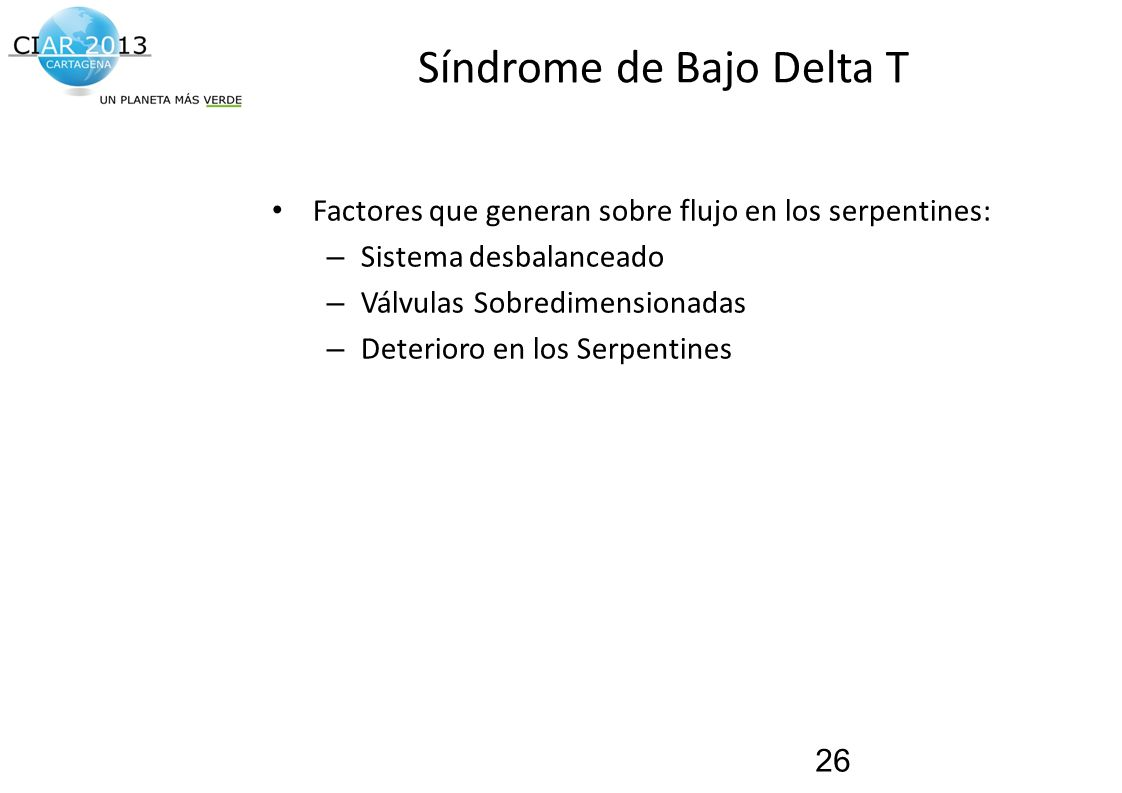 Síndrome de Bajo Delta T