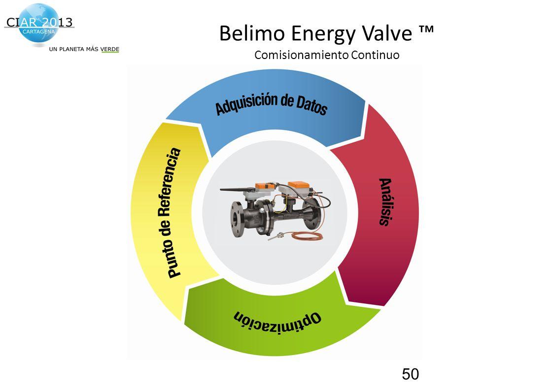 Belimo Energy Valve ™ Comisionamiento Continuo