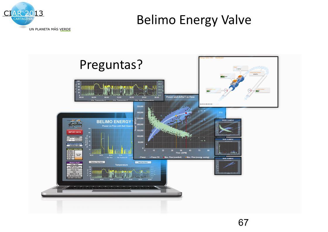 Belimo Energy Valve Preguntas