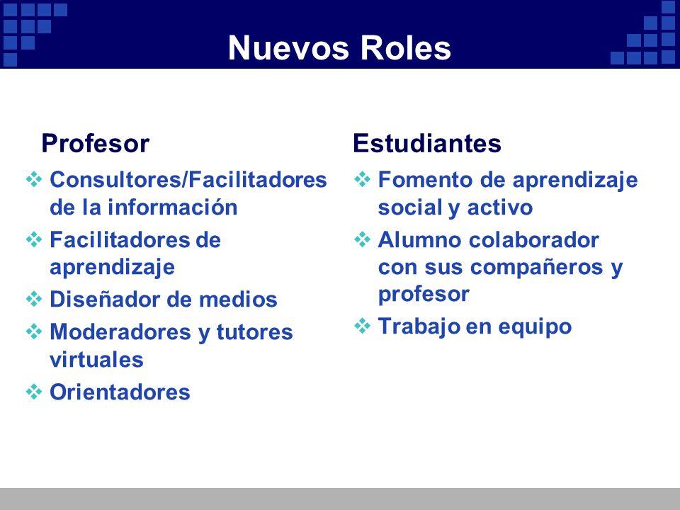 Nuevos Roles Profesor Estudiantes