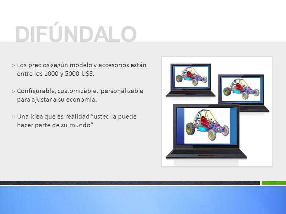 DIFÚNDALO Los precios según modelo y accesorios están entre los 1000 y 5000 U$S.