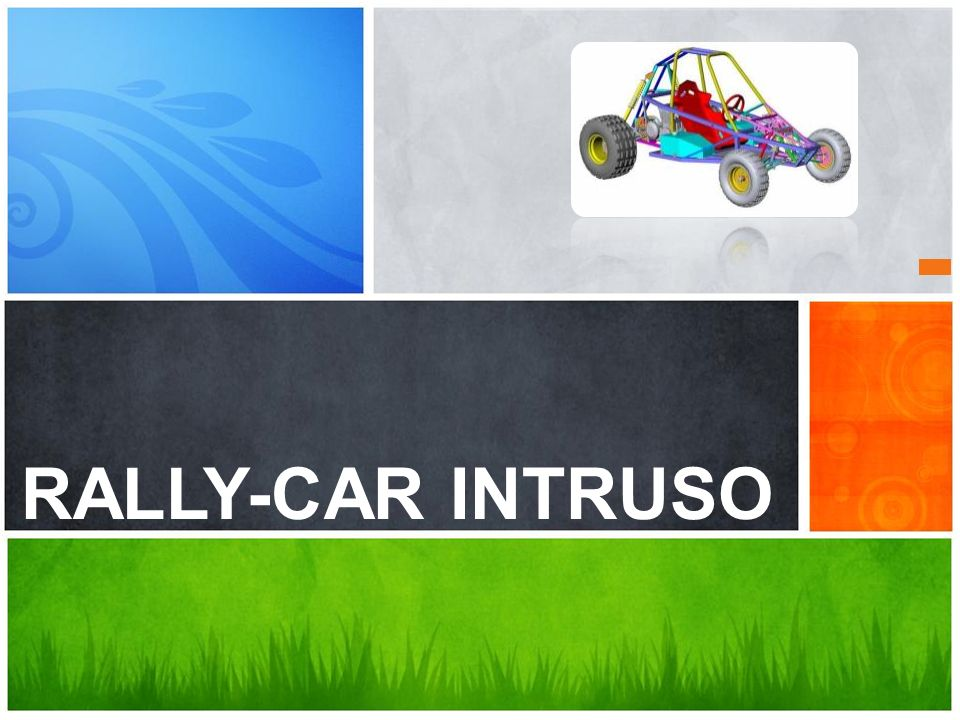 RALLY-CAR INTRUSO YA EXISTE ES PARA VOS!