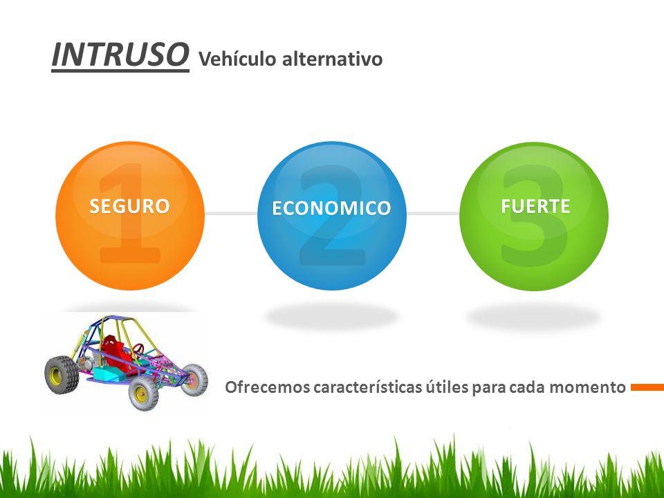 1 2 3 INTRUSO Vehículo alternativo SEGURO ECONOMICO FUERTE