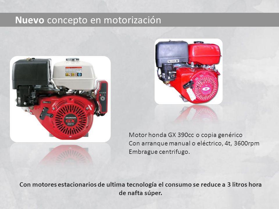 Nuevo concepto en motorización