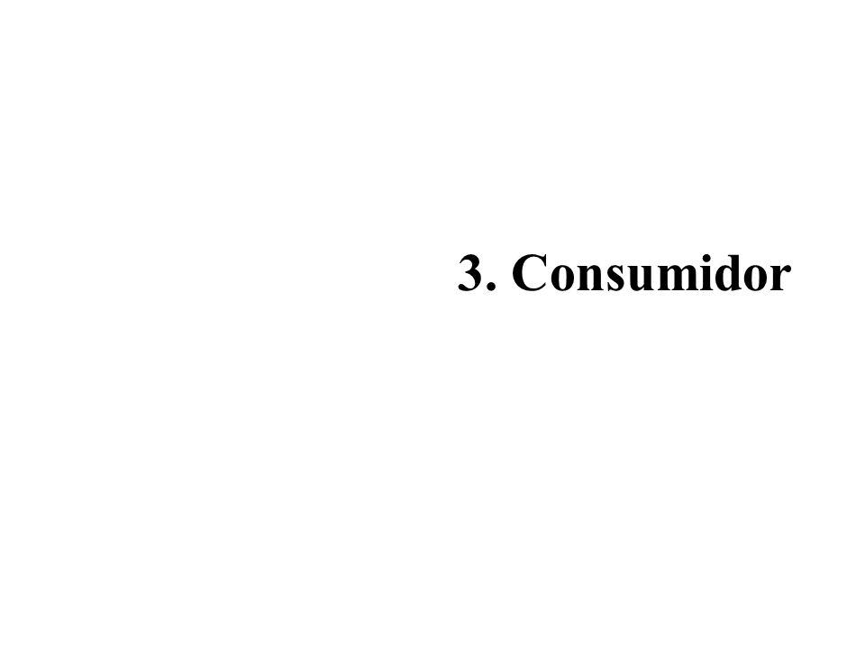 3. Consumidor