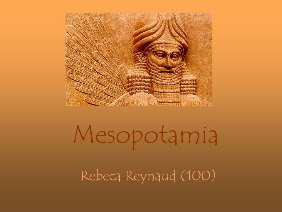 Mesopotamia Rebeca Reynaud (100)