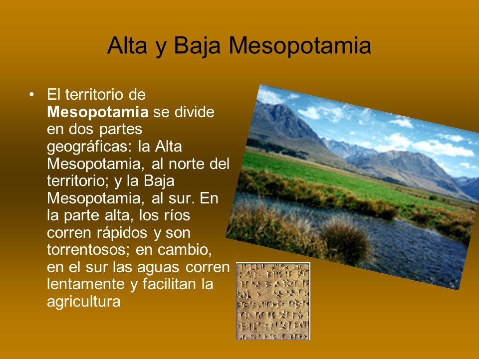 Alta y Baja Mesopotamia