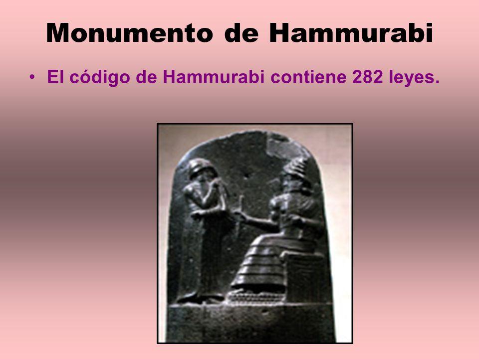 Monumento de Hammurabi