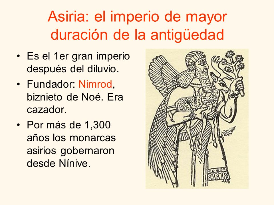 Asiria: el imperio de mayor duración de la antigüedad
