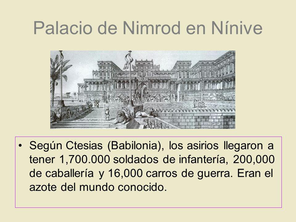 Palacio de Nimrod en Nínive