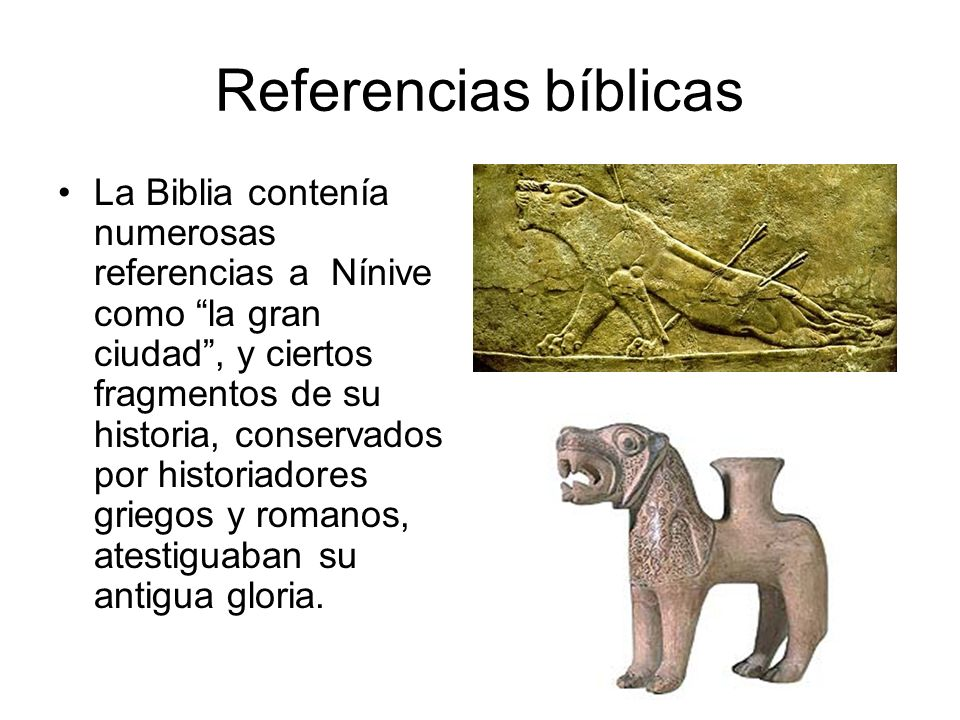 Referencias bíblicas