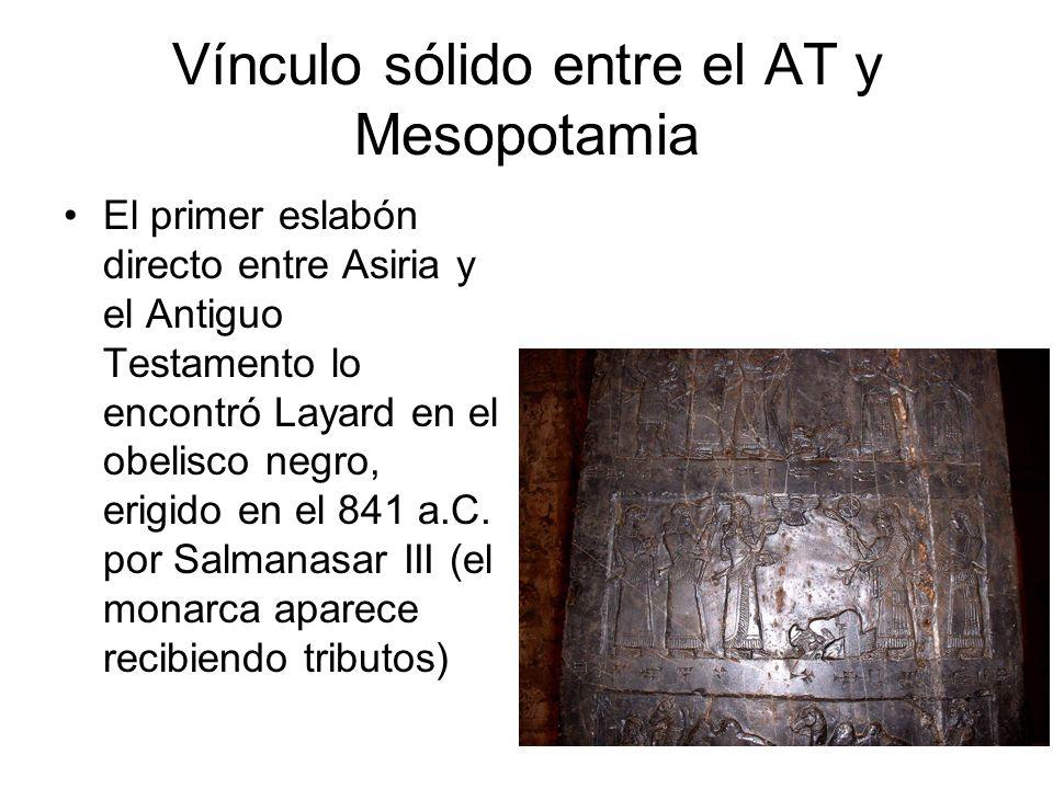 Vínculo sólido entre el AT y Mesopotamia