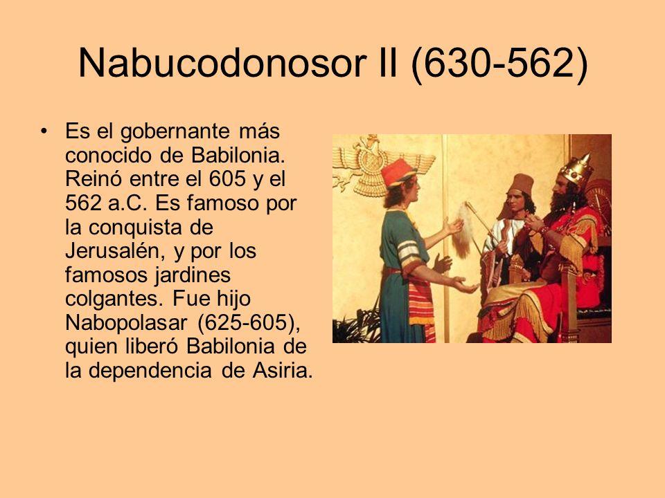 Nabucodonosor II (630-562)