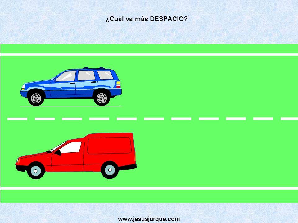 ¿Cuál va más DESPACIO www.jesusjarque.com