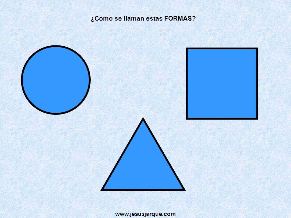 ¿Cómo se llaman estas FORMAS
