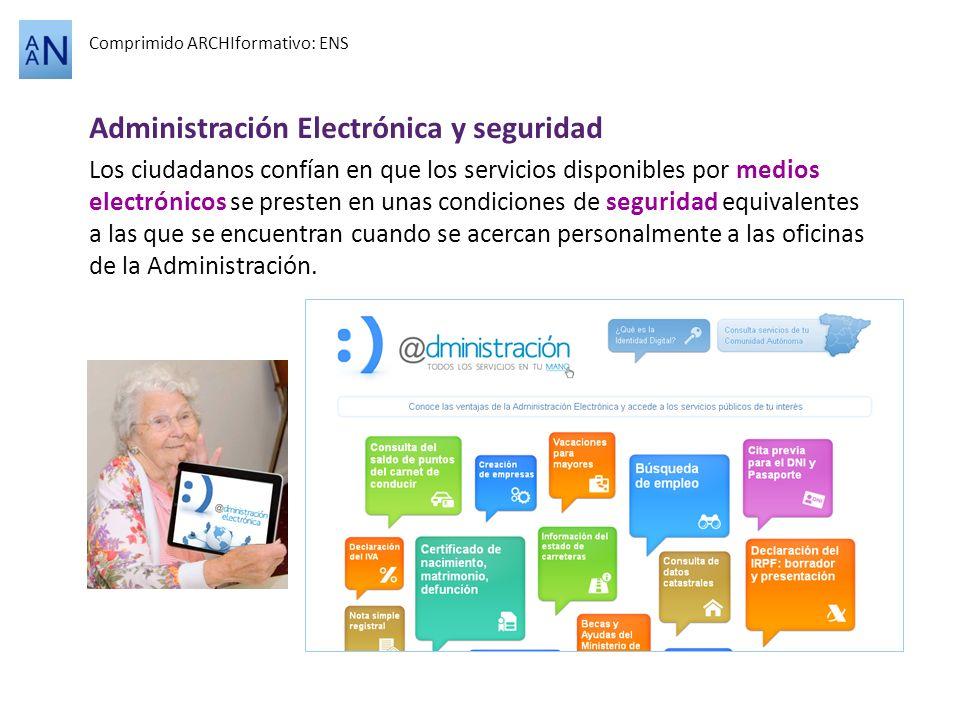 Administración Electrónica y seguridad