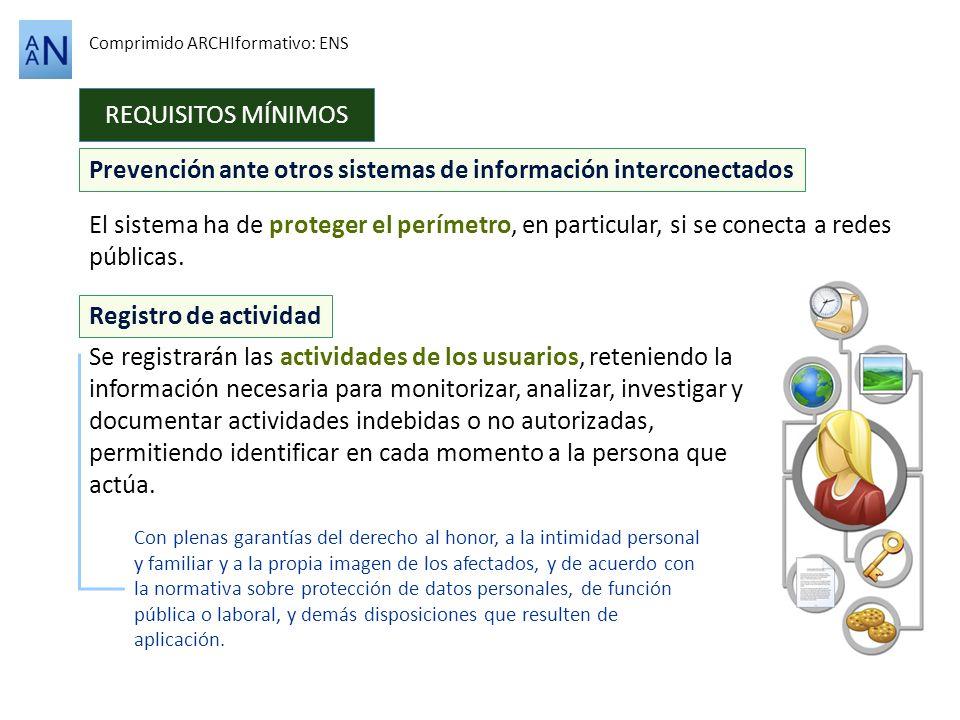 Prevención ante otros sistemas de información interconectados