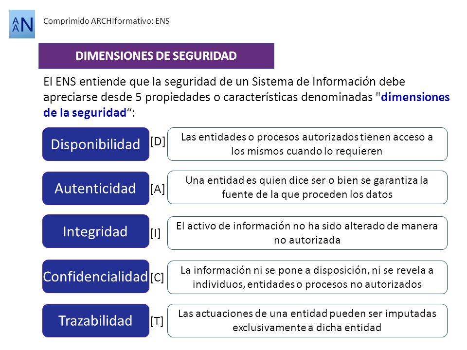 DIMENSIONES DE SEGURIDAD