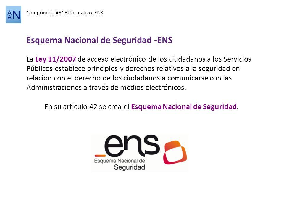 Esquema Nacional de Seguridad -ENS