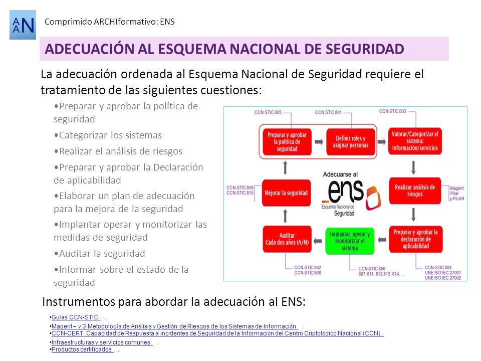 ADECUACIÓN AL ESQUEMA NACIONAL DE SEGURIDAD