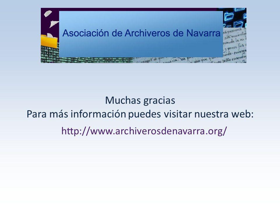 Muchas gracias Para más información puedes visitar nuestra web: