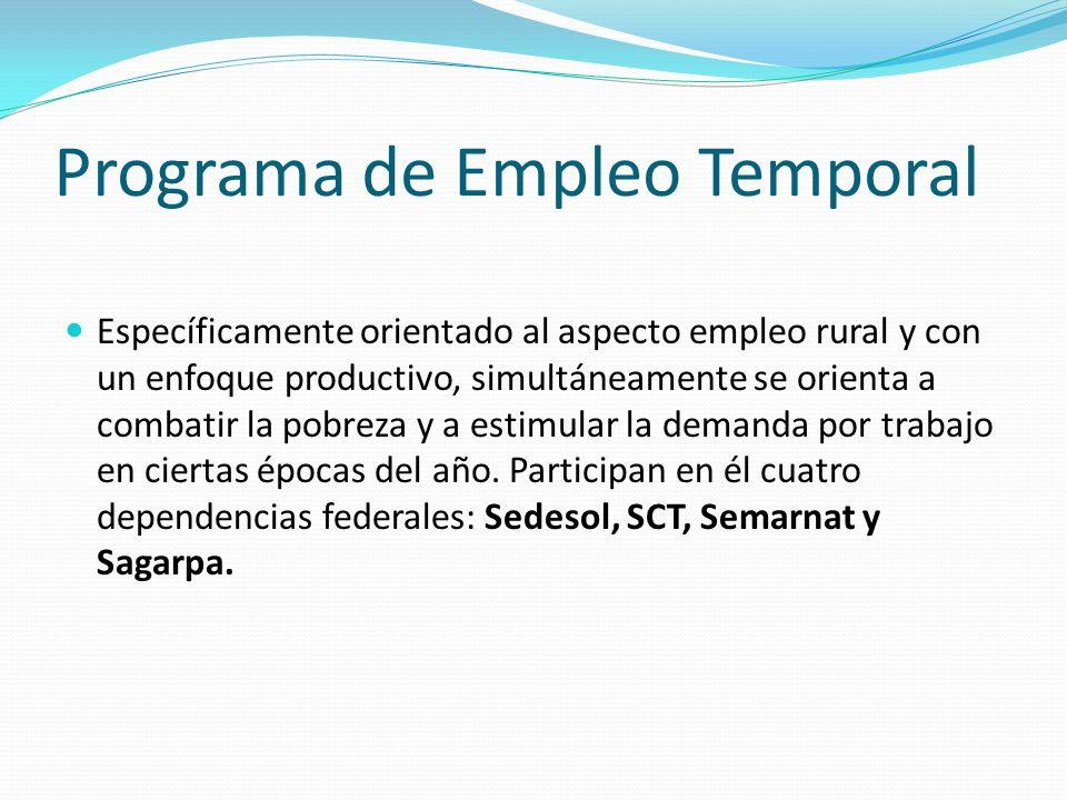 Programa de Empleo Temporal
