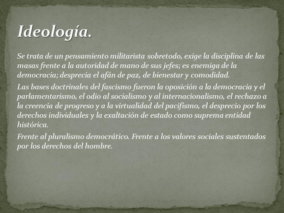 Ideología.