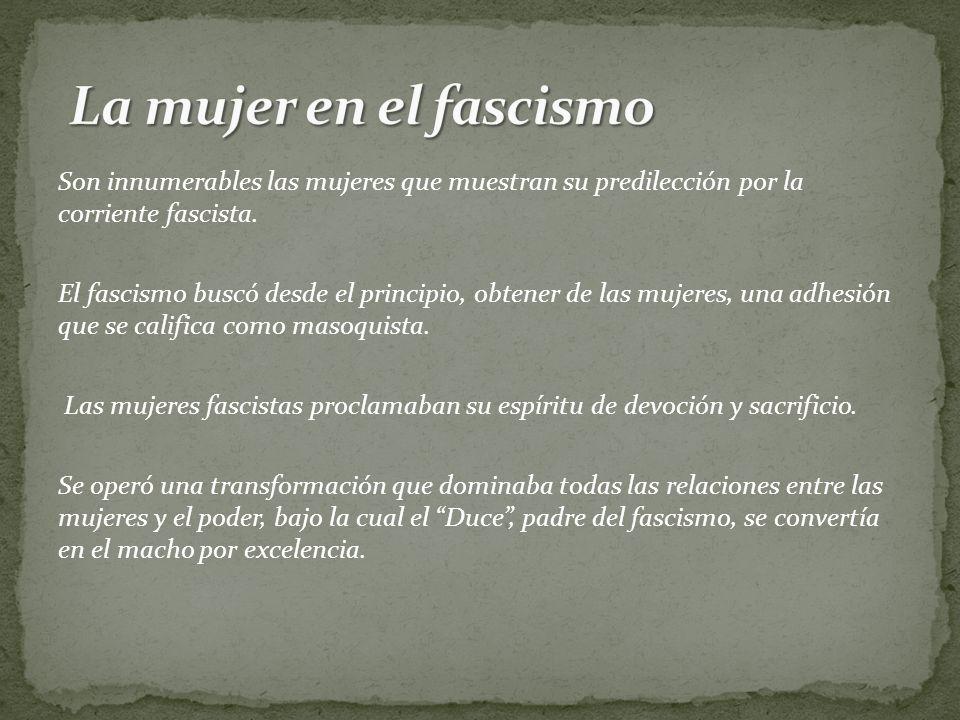 La mujer en el fascismo