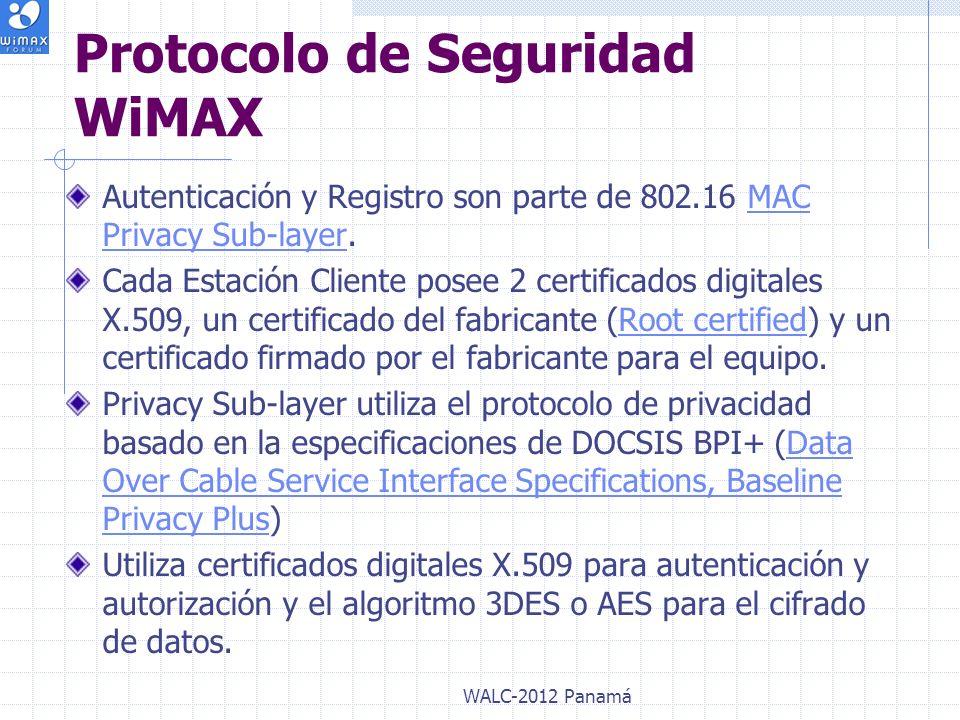 Protocolo de Seguridad WiMAX