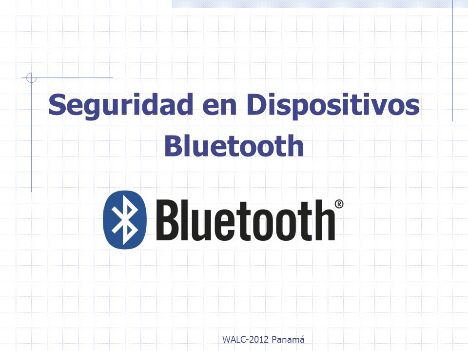 Seguridad en Dispositivos Bluetooth