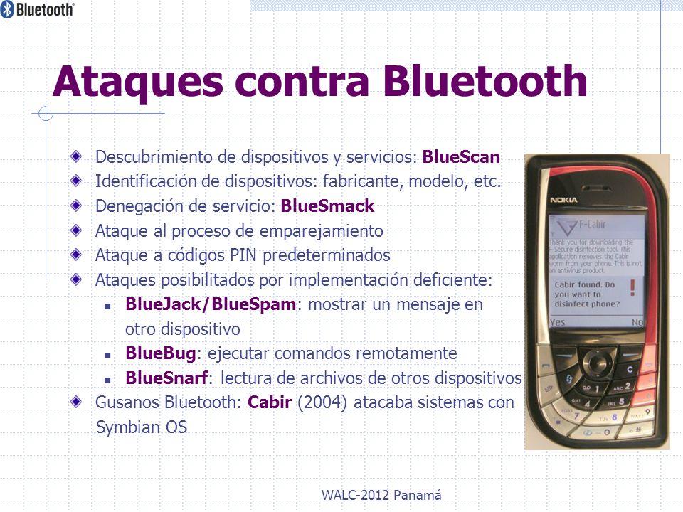 Ataques contra Bluetooth