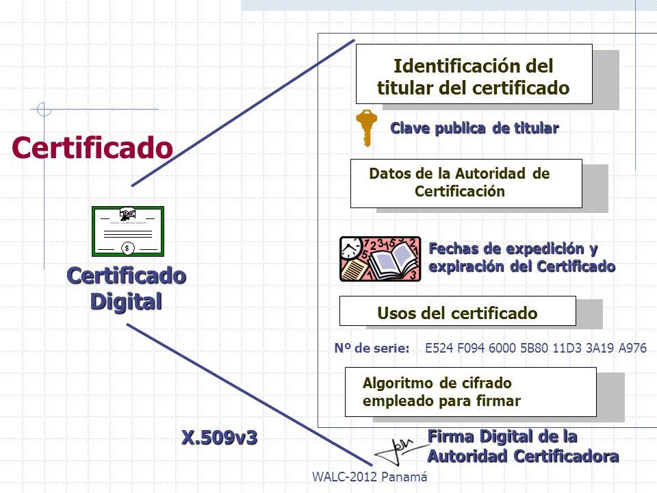Certificado Certificado Digital