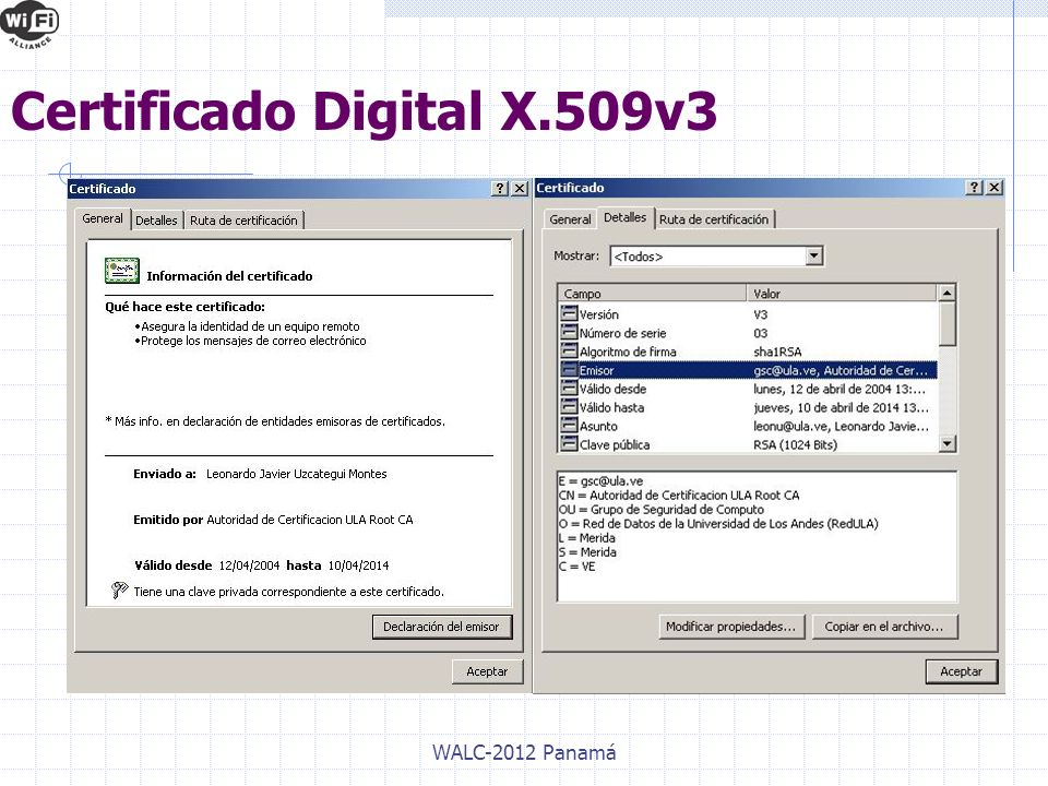 Certificado Digital X.509v3