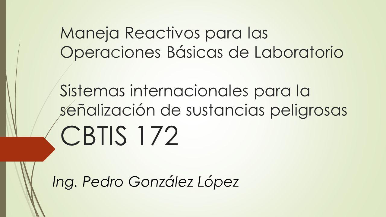 Ing. Pedro González López