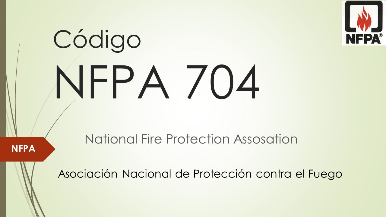 National Fire Protection Assosation