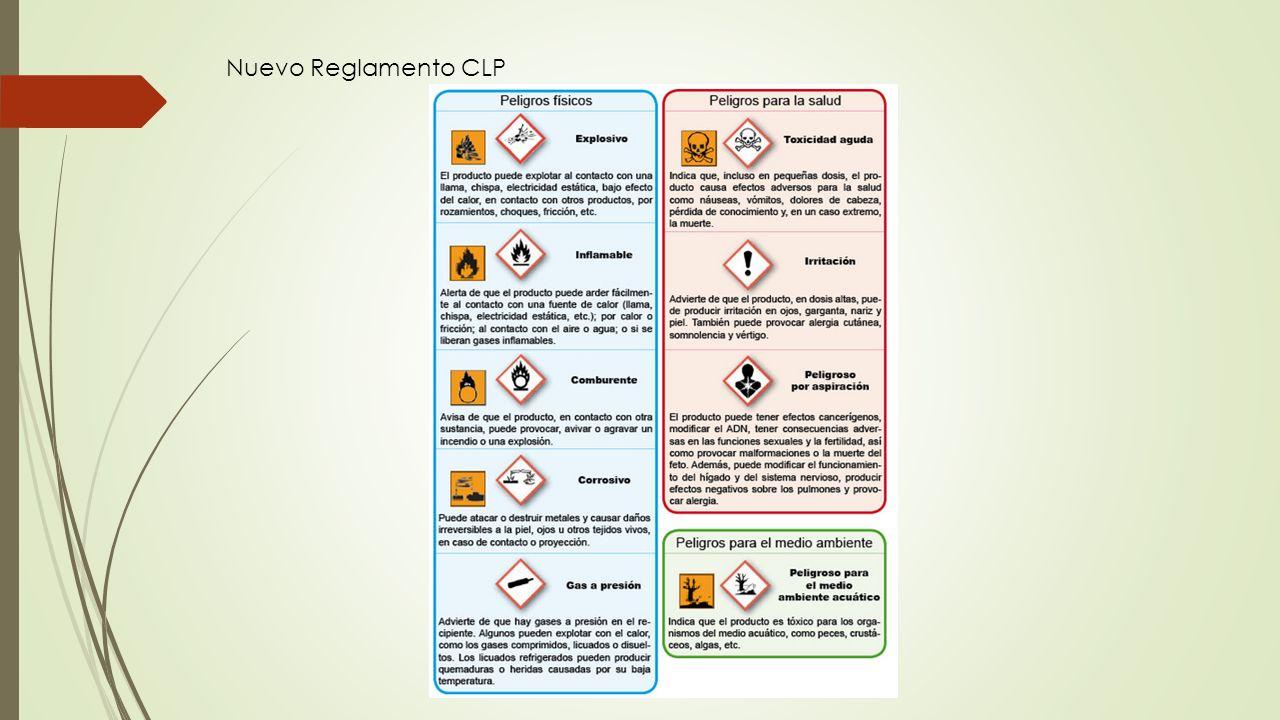Nuevo Reglamento CLP