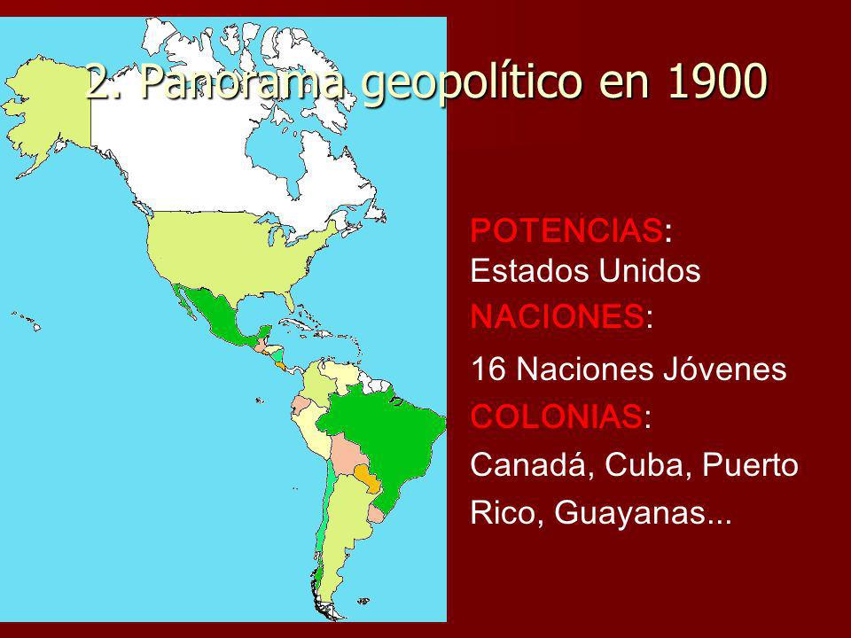 2. Panorama geopolítico en 1900