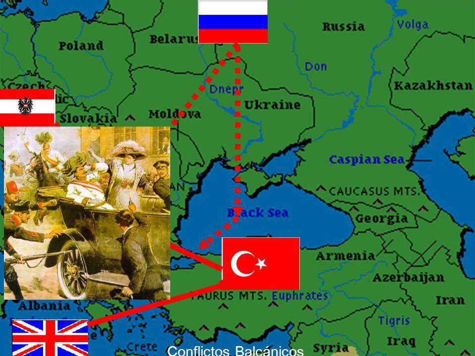 Conflictos Balcánicos