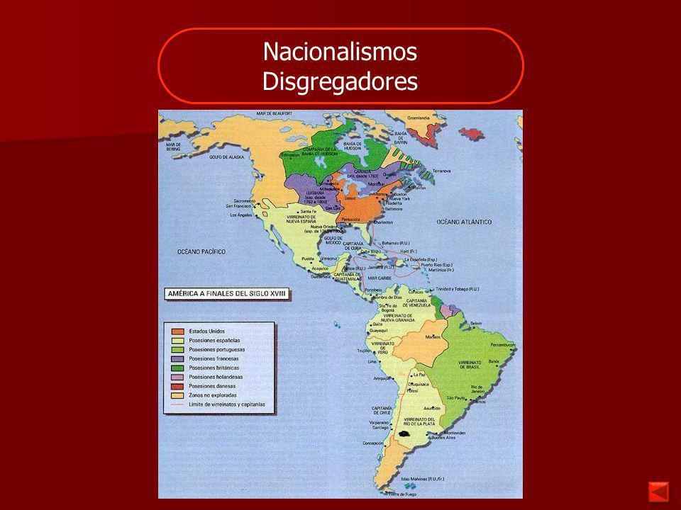 Nacionalismos Disgregadores