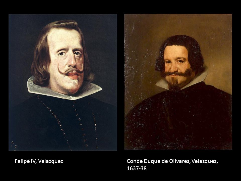 Felipe IV, Velazquez Conde Duque de Olivares, Velazquez, 1637-38