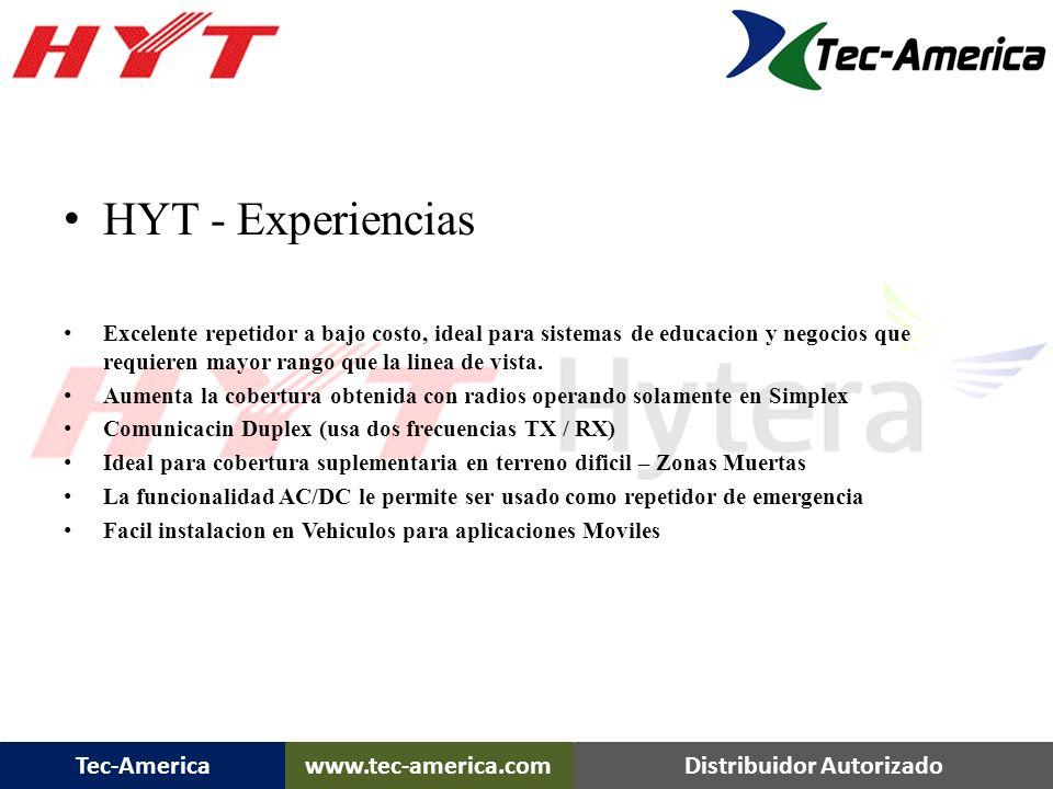 HYT - Experiencias Excelente repetidor a bajo costo, ideal para sistemas de educacion y negocios que requieren mayor rango que la linea de vista.