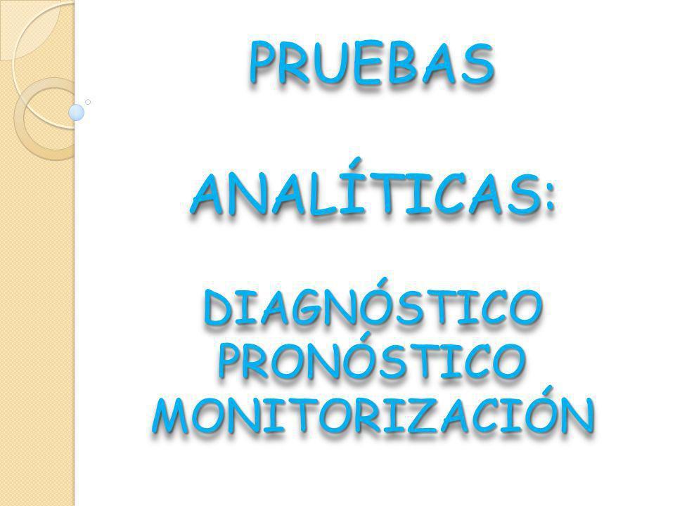 DIAGNÓSTICO PRONÓSTICO MONITORIZACIÓN