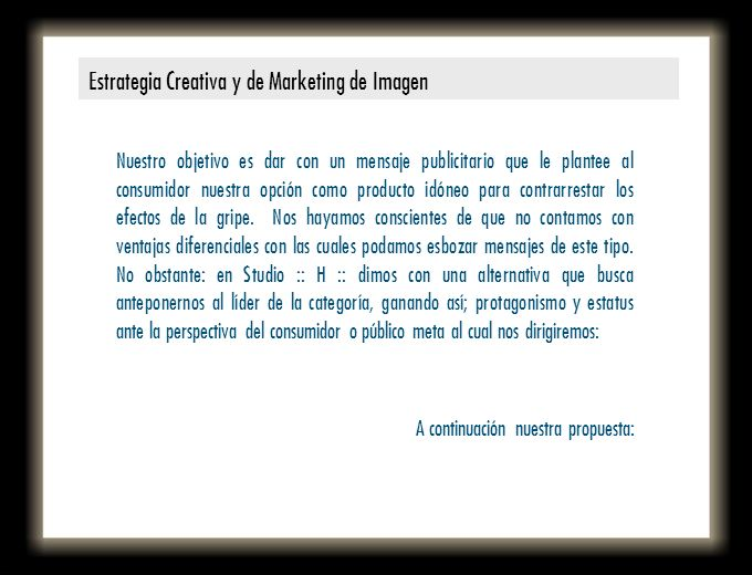 Estrategia Creativa y de Marketing de Imagen