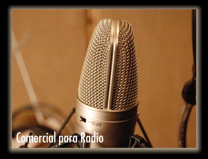 Comercial para Radio