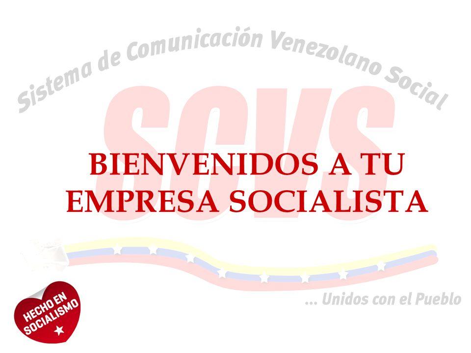 BIENVENIDOS A TU EMPRESA SOCIALISTA